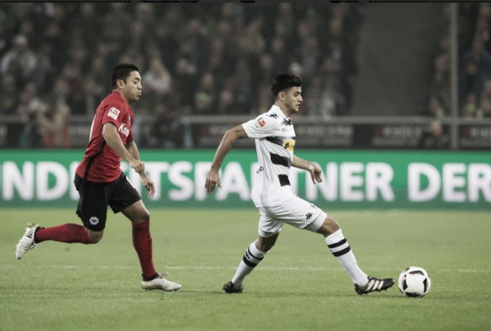 Com Borussia-Park lotado, Gladbach não sai do zero contra Eintracht Frankfurt
