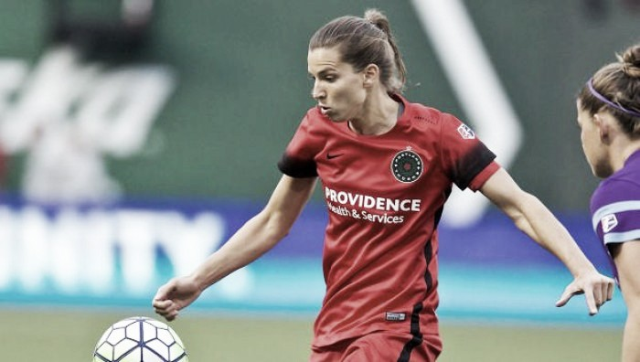 Tobin Heath named NWSL Player of the Month