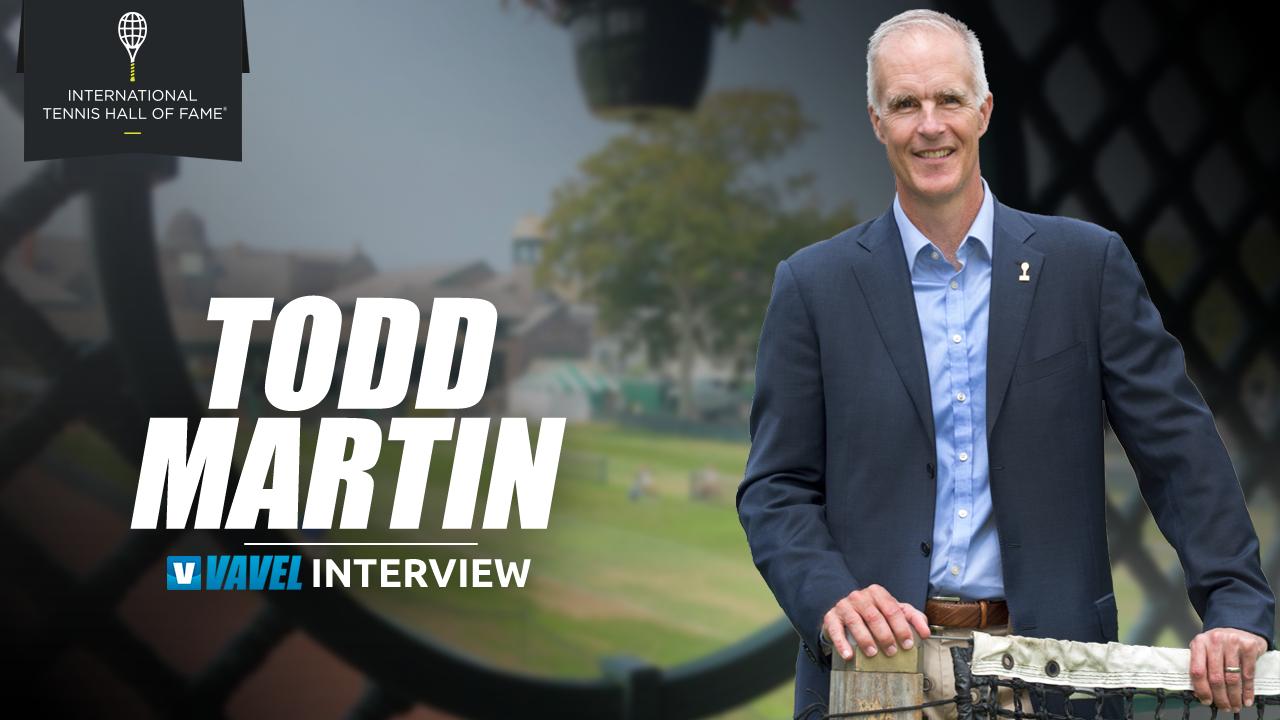 """Entrevista. Todd Martin: """"El éxito constante es vital para entrar al International Tennis Hall of Fame"""""""