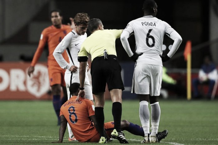Wijnaldum se machuca pela Seleção Holandesa e pode desfalcar Liverpool contra United
