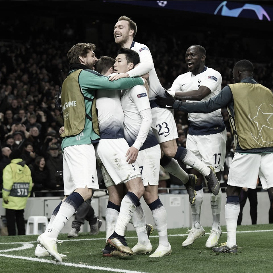 Tottenham neutraliza City e larga na frente por vaga nas semis da Champions League