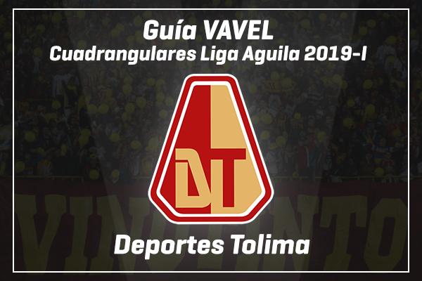 Guía VAVEL Colombia, cuadrangulares Liga Aguila 2019-I: Deportes Tolima