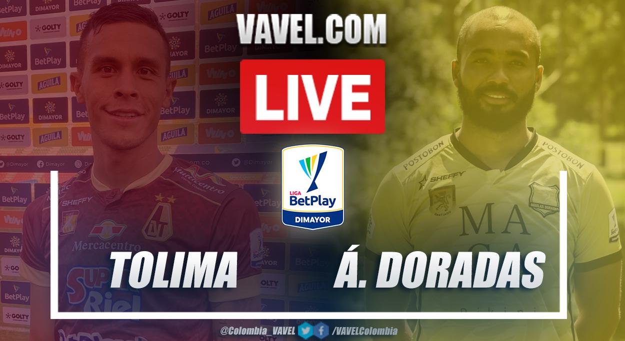 Resumen Tolima vs Águilas Doradas (1-0) en la fecha 10 por Liga BetPlay 2021-I
