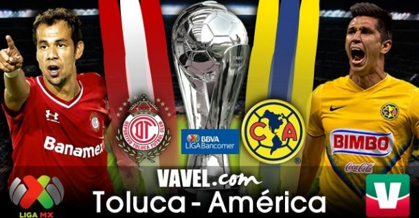 Resultado Toluca - América en Liga MX 2014 (1-1)