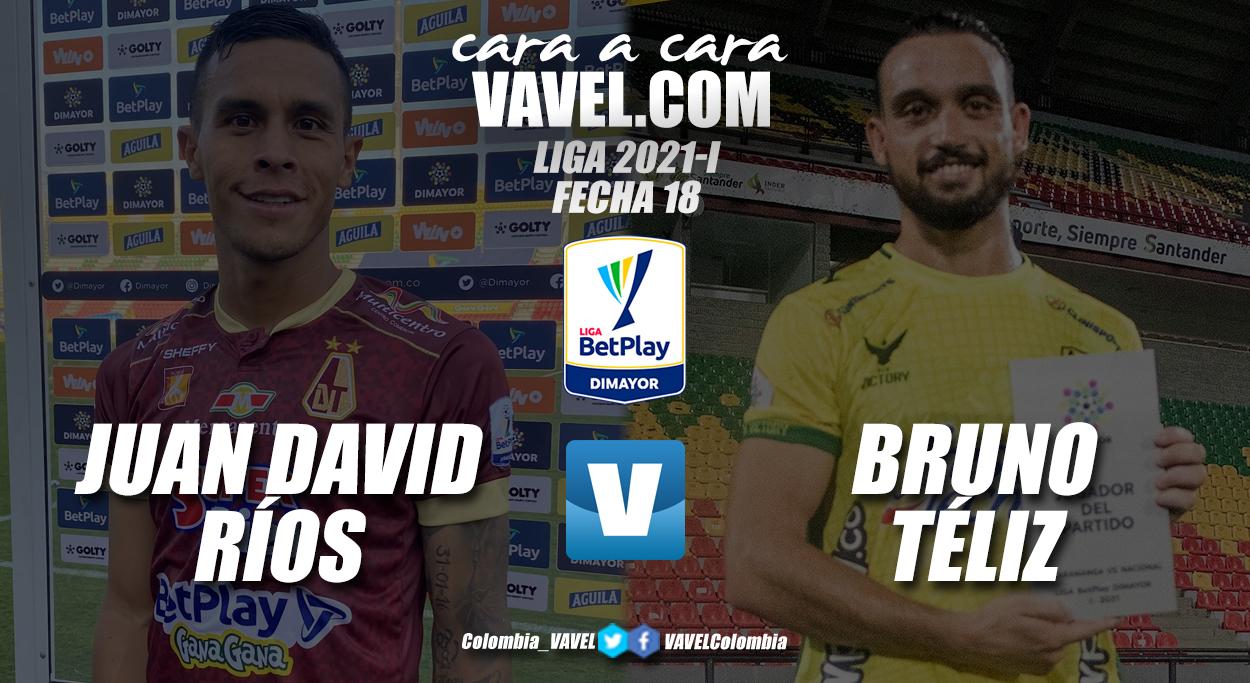 Cara a cara: Juan David Ríos vs Bruno Téliz