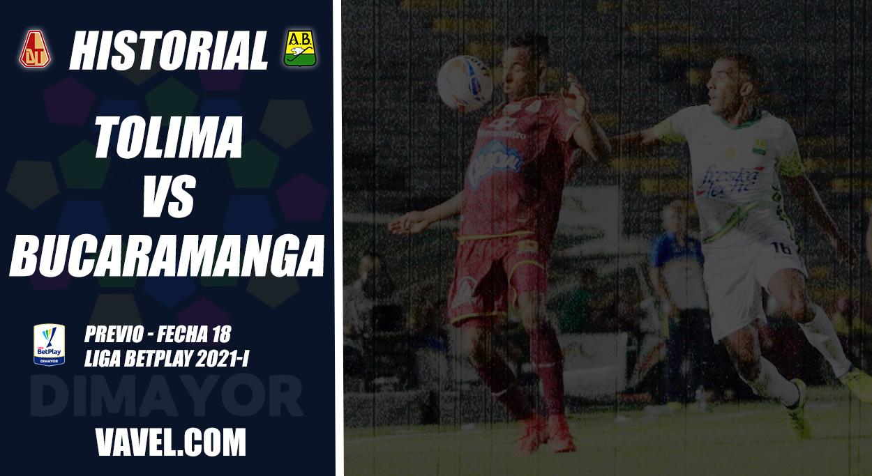 Historial Deportes Tolima vs. Atlético Bucaramanga: superioridad 'auriverde'