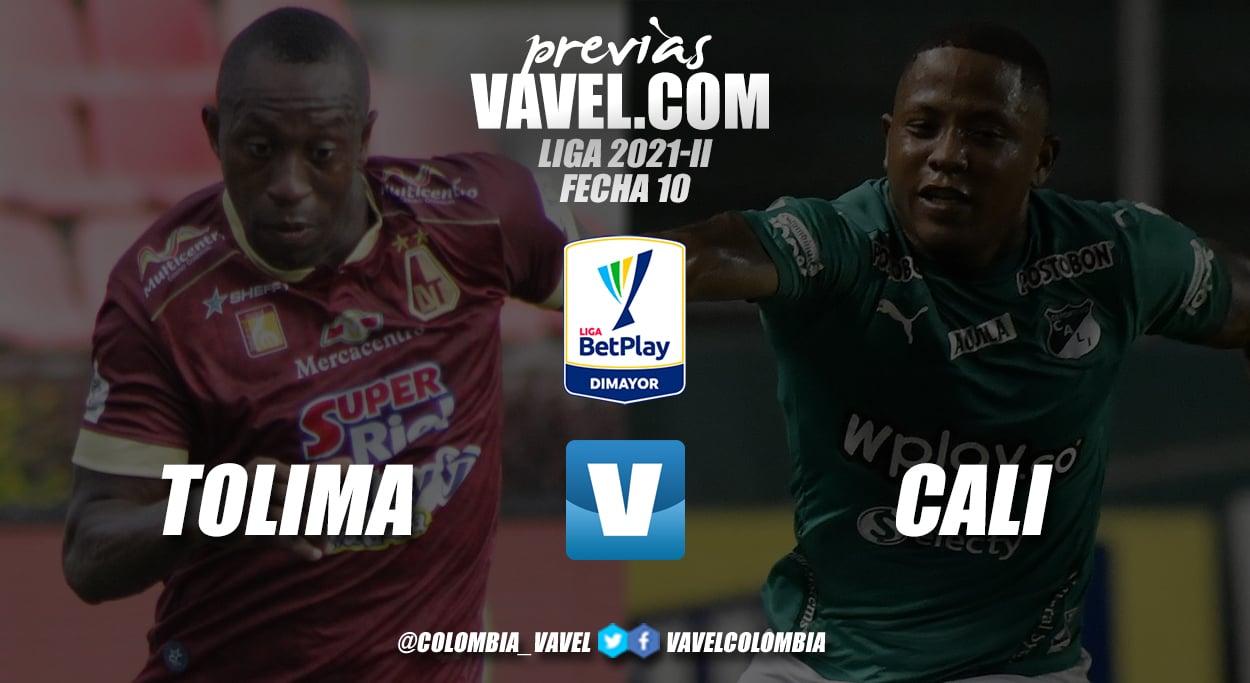 Previa Deportes Tolima vs Deportivo Cali: duelo para sacarse chispas fecha 10 de la liga