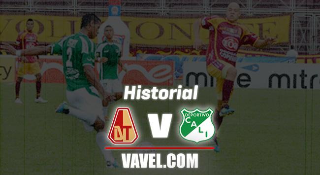 Historial: Deportes Tolima vs. Deportivo Cali
