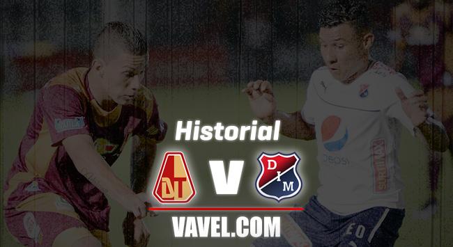 Historial entre Independiente Medellín y Deportes Tolima