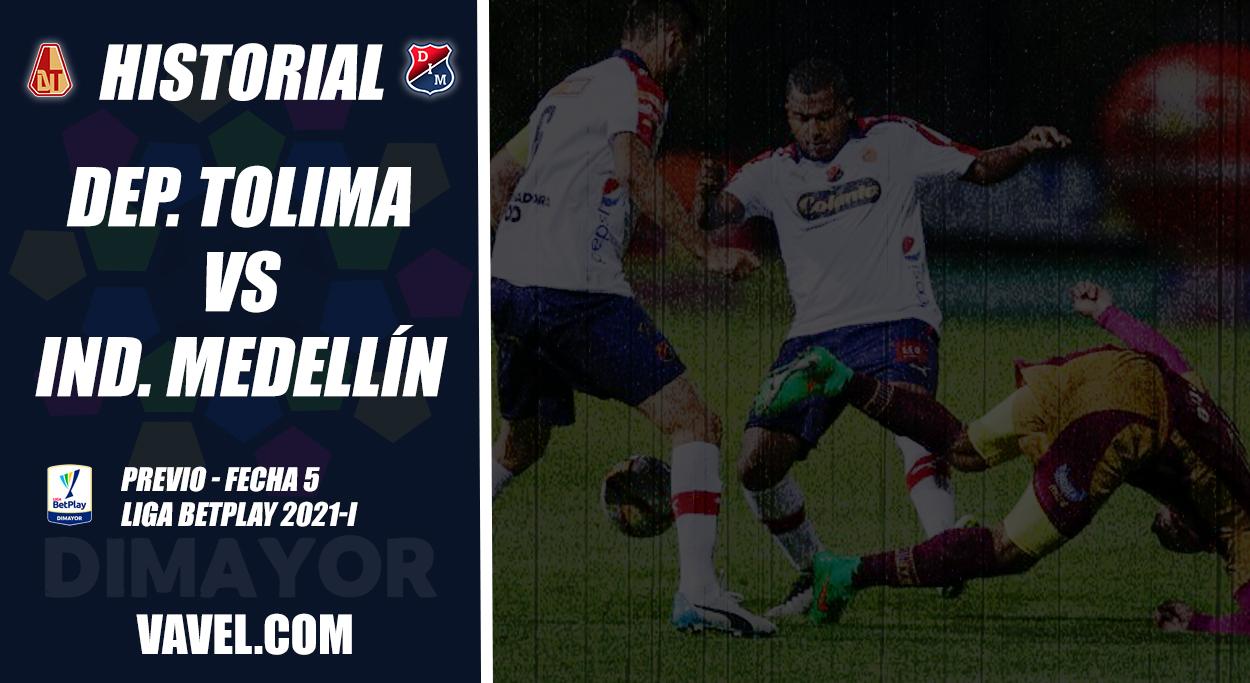 Historial Deportes Tolima vs Independiente Medellín: Ibagué una plaza donde el 'poderoso' da pelea
