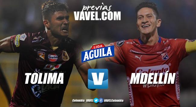 Previa Deportes Tolima vs Independiente Medellín: La última esperanza poderosa