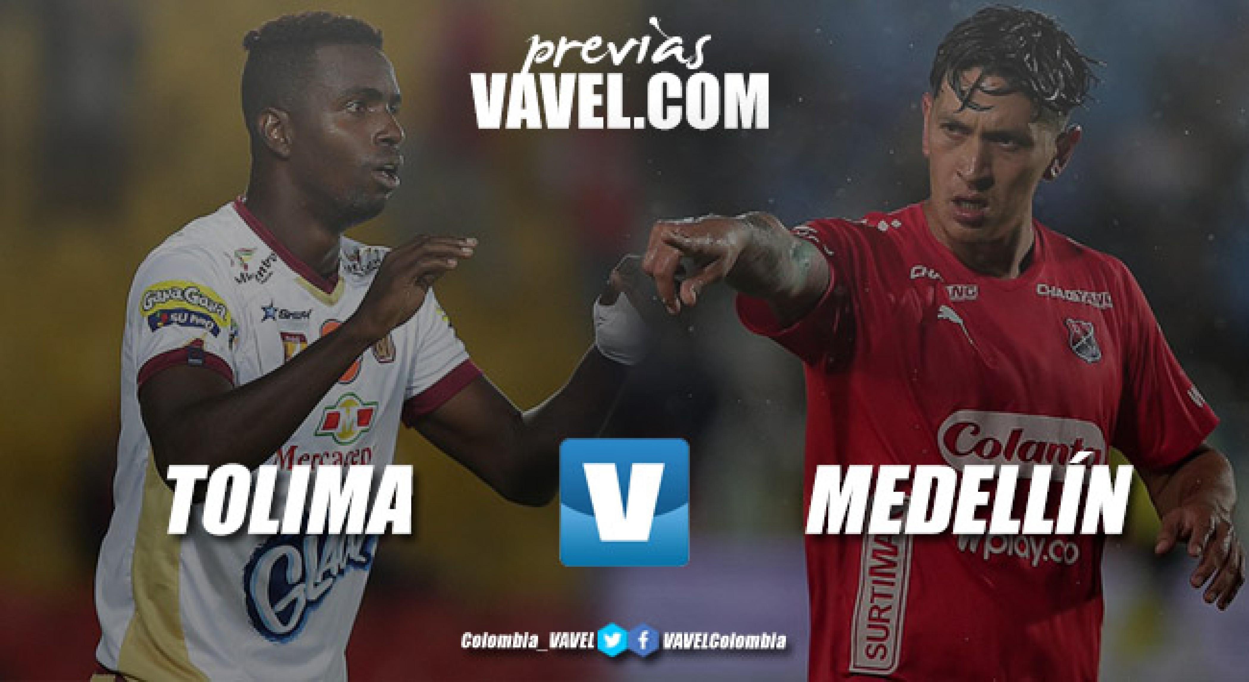 Independiente Medellín, listo para visitar al Tolima