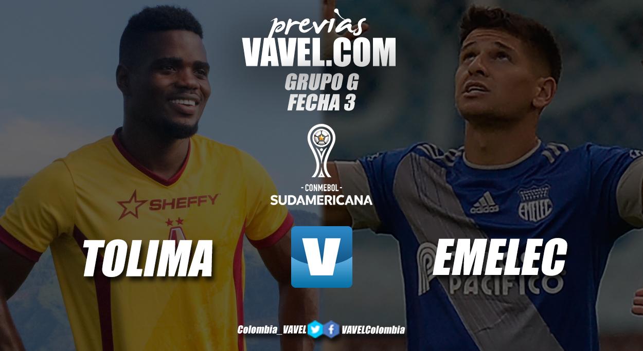 Previa Deportes Tolima vs Club Sport Emelec: solo sirve la victoria