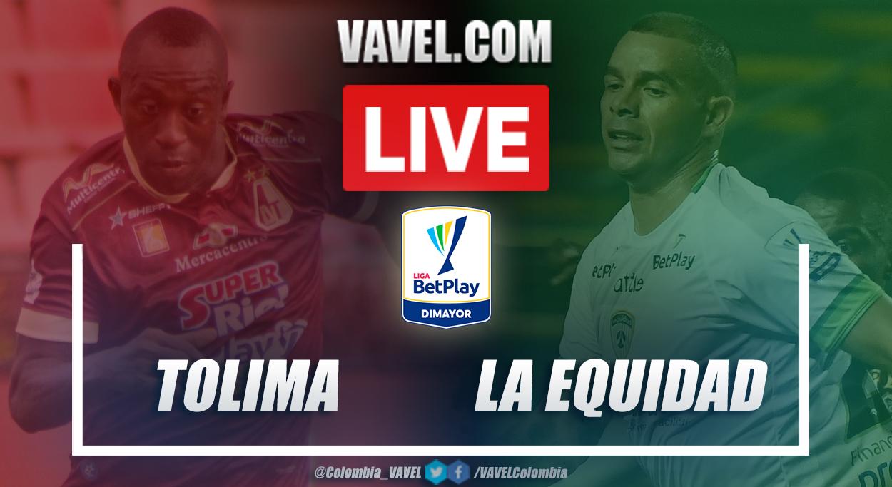 Resumen Tolima vs La Equidad (1-0) en la fecha 3 por Liga BetPlay