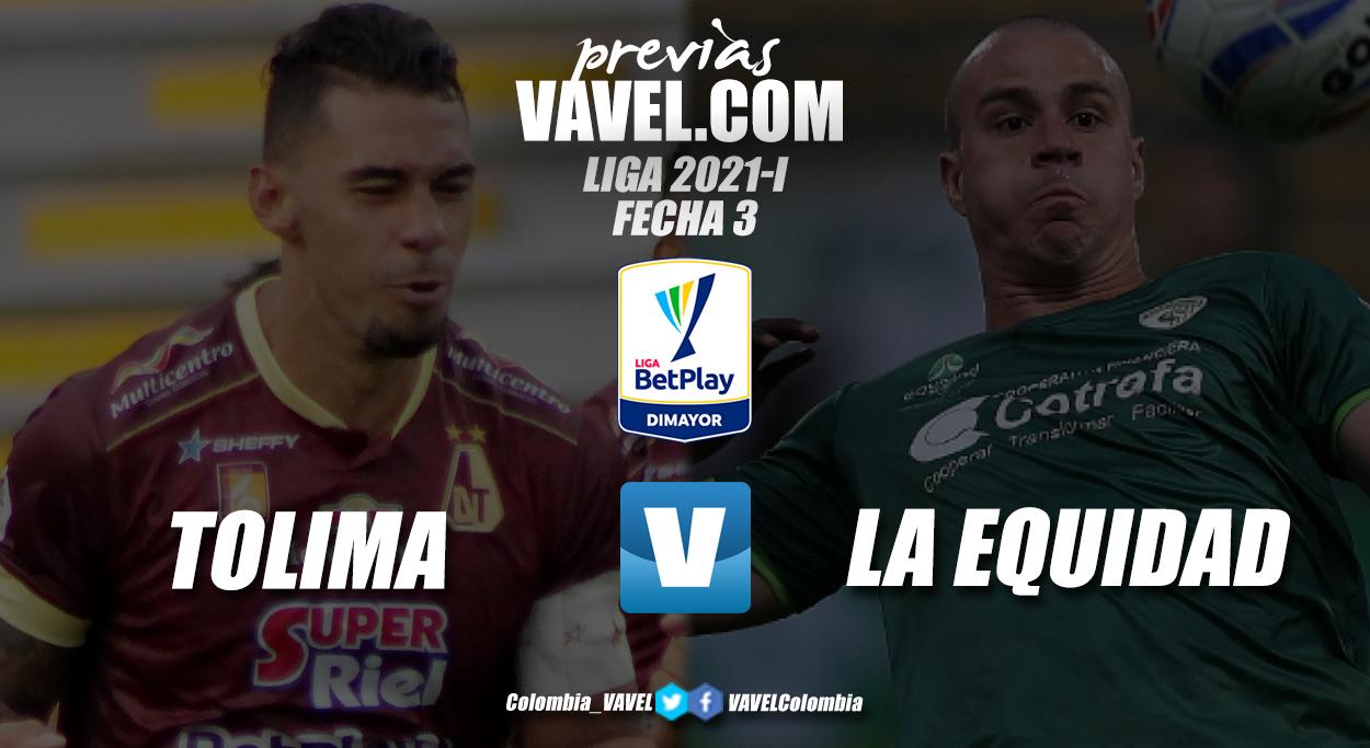 Previa Deportes Tolima vs La Equidad: a seguir en buen camino