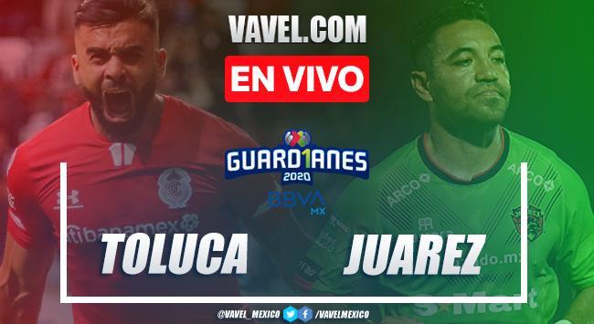 Gol y resumen del Toluca 0-1 Juárez en Liga MX 2020