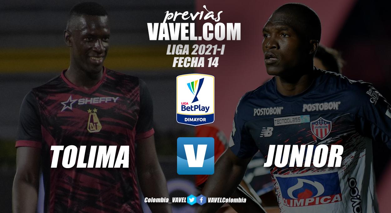 Previa Deportes Tolima vs Junior de Barranquilla: partido por el respeto de un país