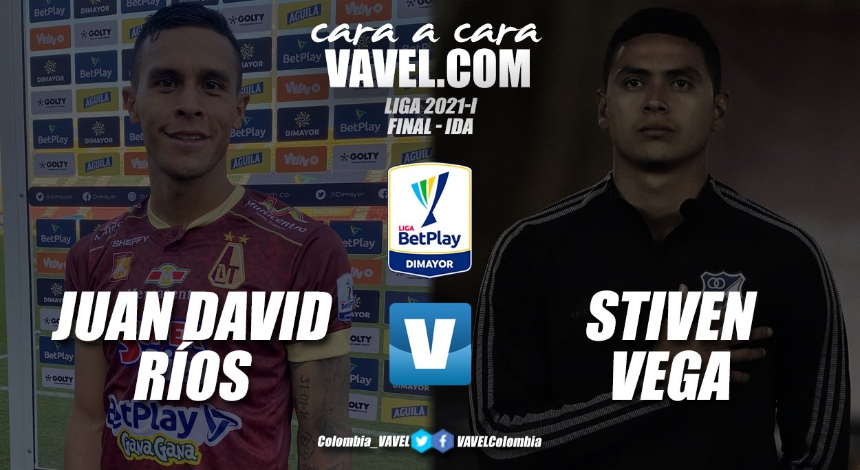Cara a cara: Juan David Ríos vs Stiven Vega