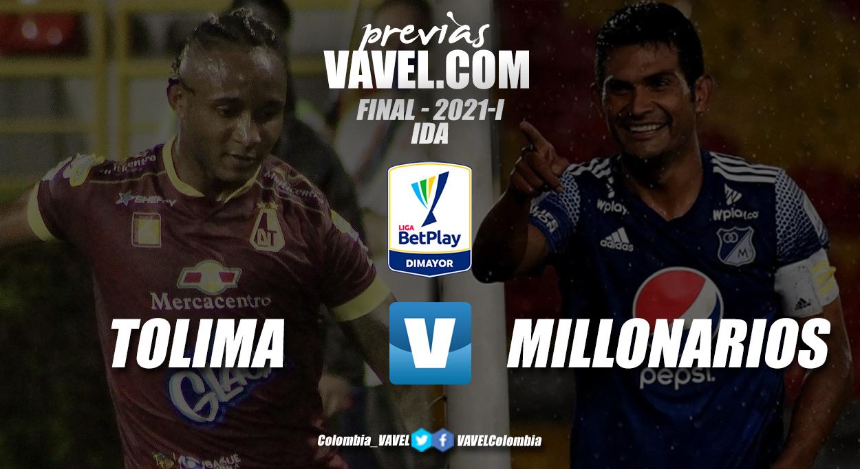 Previa Deportes Tolima vs Millonarios: la primera mitad de la gloria