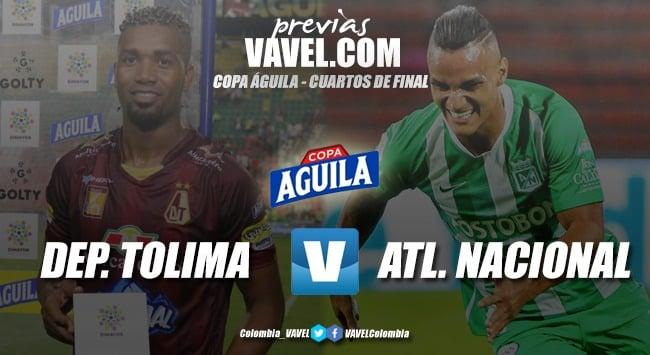 Previa Deportes Tolima vs. Atlético Nacional: últimos 90 para conocer al primer semifinalista en Copa Aguila