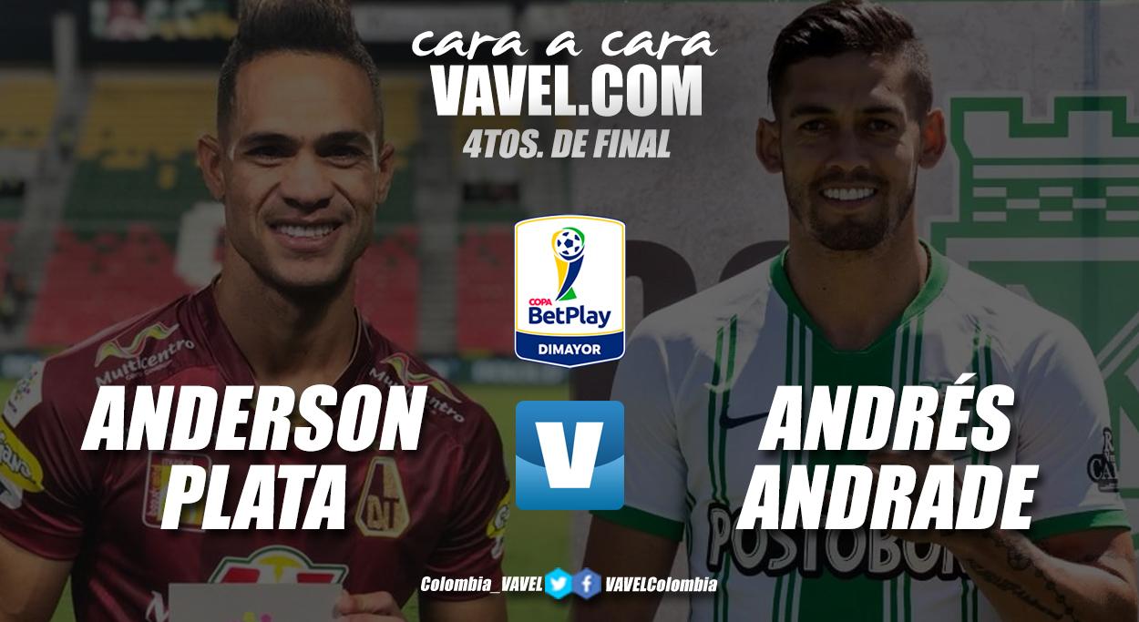 Cara a cara: Anderson Plata vs Andrés Andrade
