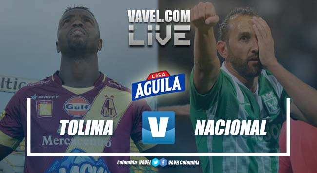 Resumen Deportes Tolima vs Atlético Nacional por la Liga Aguila 2019-I (2-1)