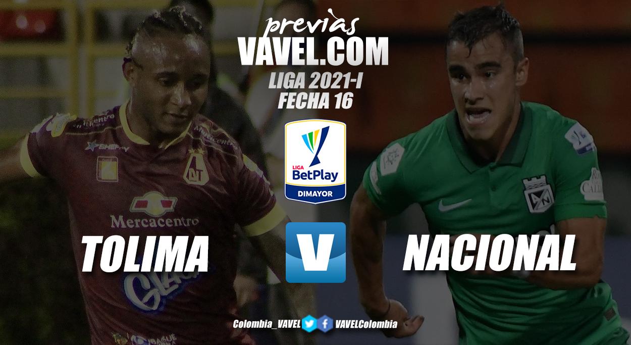 Previa Deportes Tolima vs Atlético Nacional: un partido con sabor distinto