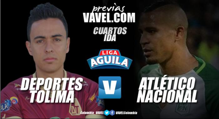 Previa Deportes Tolima - Atlético Nacional: 'vinotintos' y 'verdolagas' arrancan la batalla