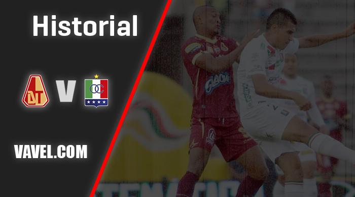 Historial Deportes Tolima vs Once Caldas: en Ibagué es a otro precio