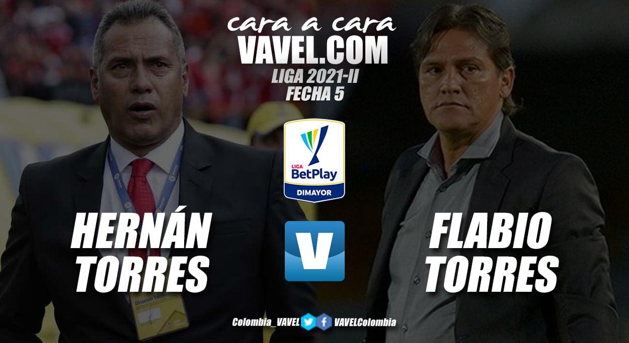 Cara a Cara: Hernán Torres vs Flabio Torres