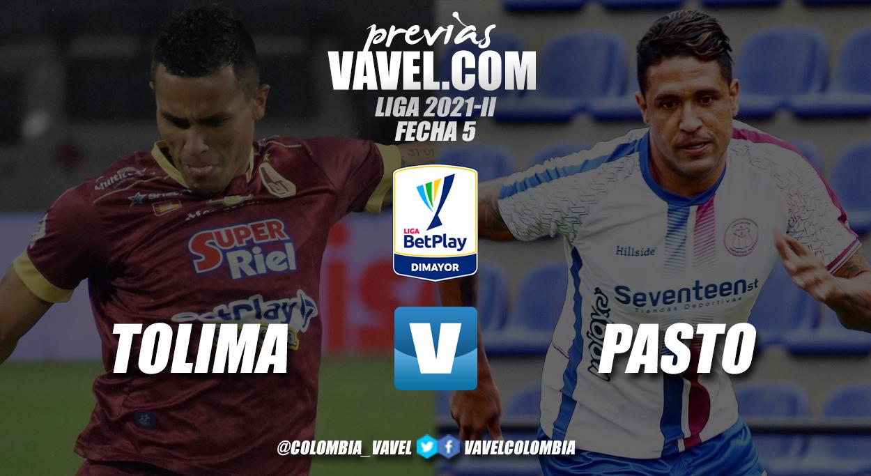 Previa Deportes Tolima vs Deportivo Pasto: dos equipos con ganas de retomar buen rumbo