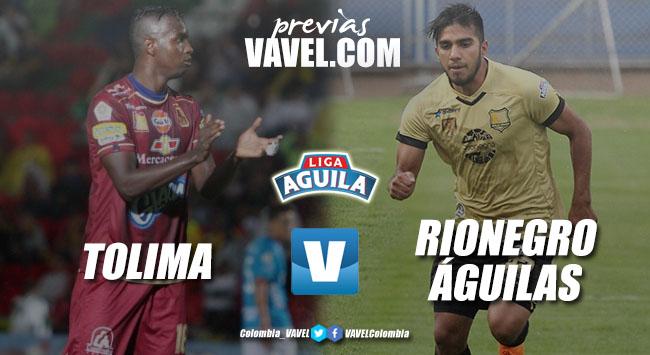 Previa Deportes Tolima vs Rionegro Águilas: en busca de los primeros tres puntos
