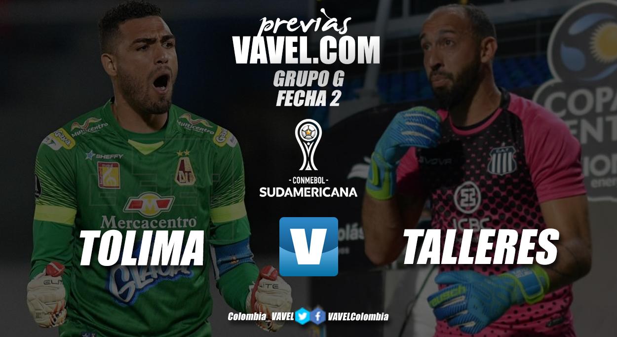 Previa Deportes Tolima vs Talleres de Córdoba: duelo de equipos necesitados
