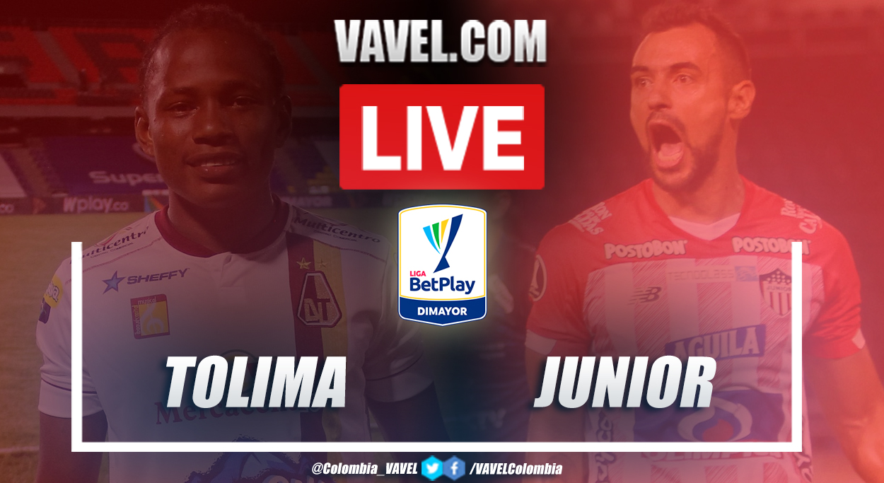 Resumen Tolima vs Junior por Liga BetPlay 2020 (0-1)