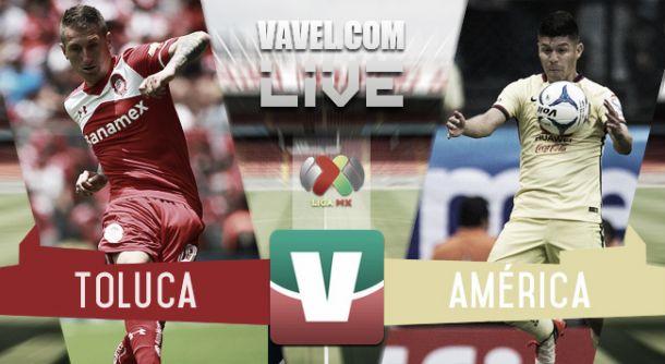 Resultado Toluca - América en Liga MX 2015 (2-3)