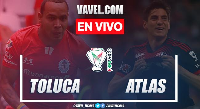 Penales y resumen: Toluca (5) 3-2 (3) Atlas en Copa MX 2020