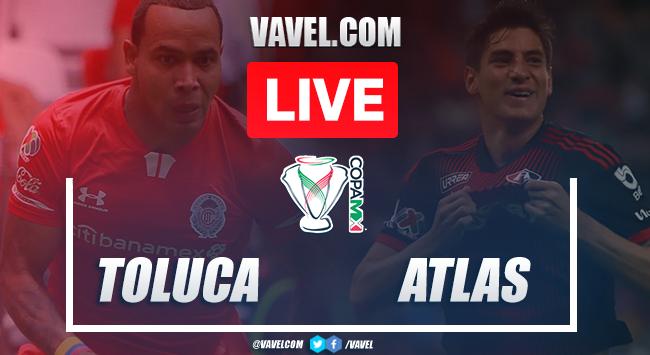 Penalty kicks and Highlights: Toluca (5) 3-2 (3) Atlas, 2020 Copa MX