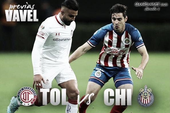Previa Toluca vs Chivas: a mantener la buena racha