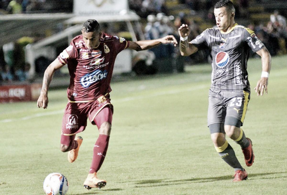Puntuaciones, Deportes Tolima - DIM, por la Liga Águila