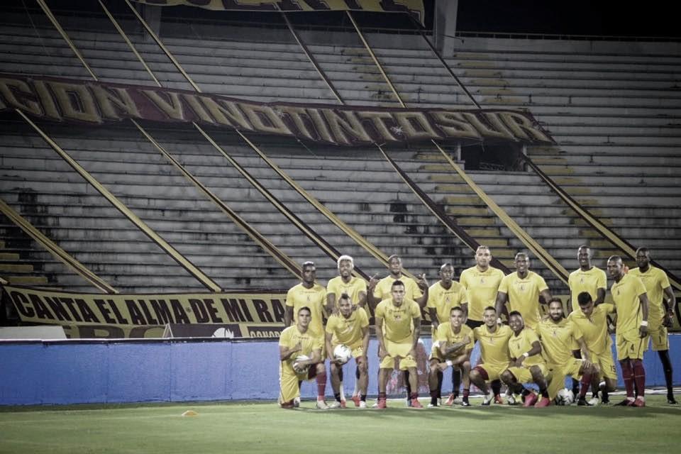 Deportes Tolima y un trabajo notable de sus jugadores frente al América
