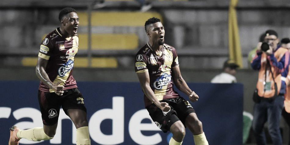 Deportes Tolima ganó en el debut de la Libertadores y es líder de su grupo
