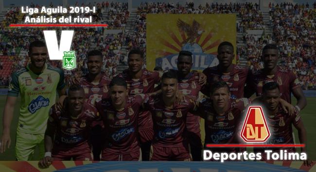 Atlético Nacional, análisis del rival: Deportes Tolima
