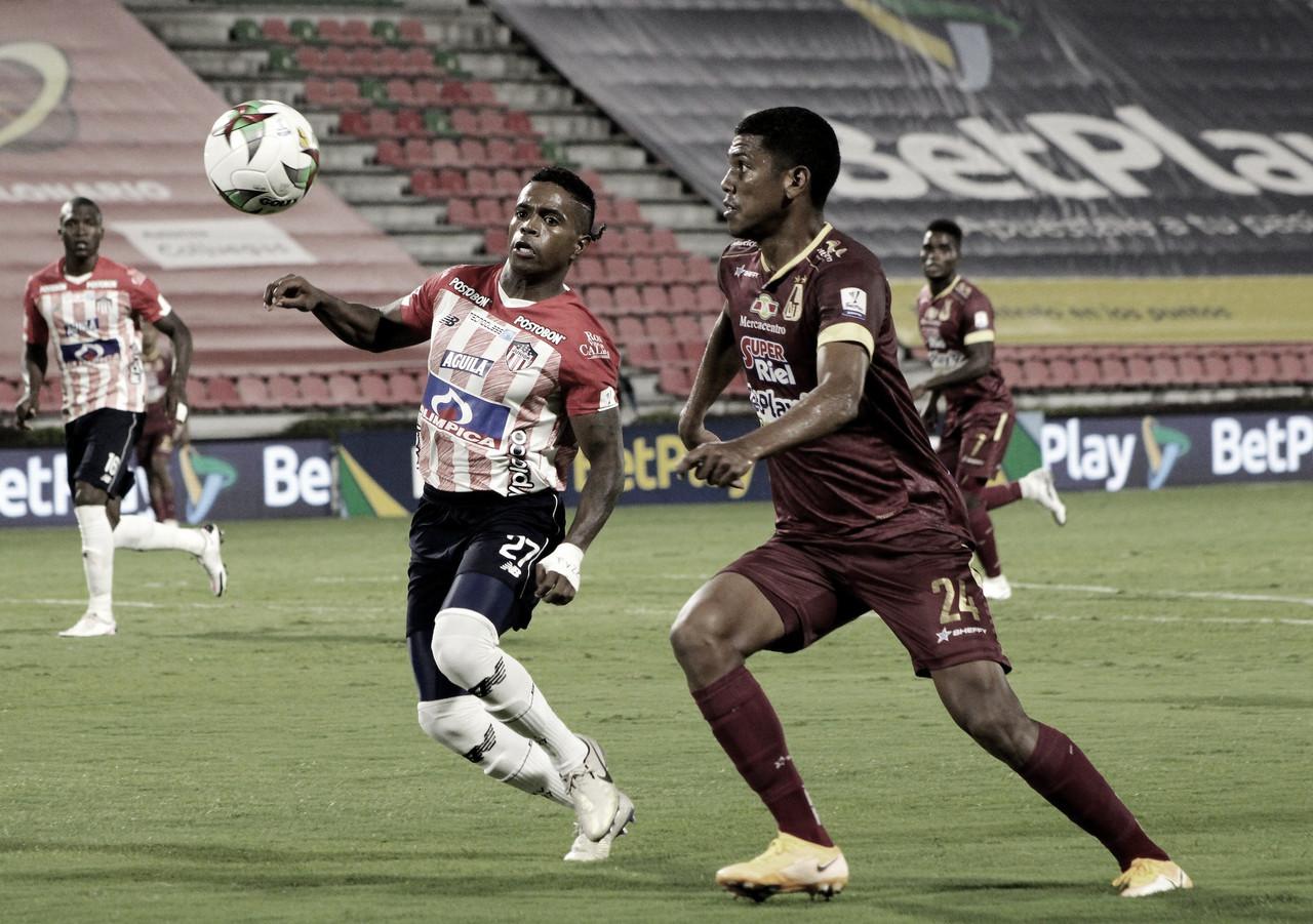 Ante Junior, Deportes Tolima sufrió una nueva derrota en la liga