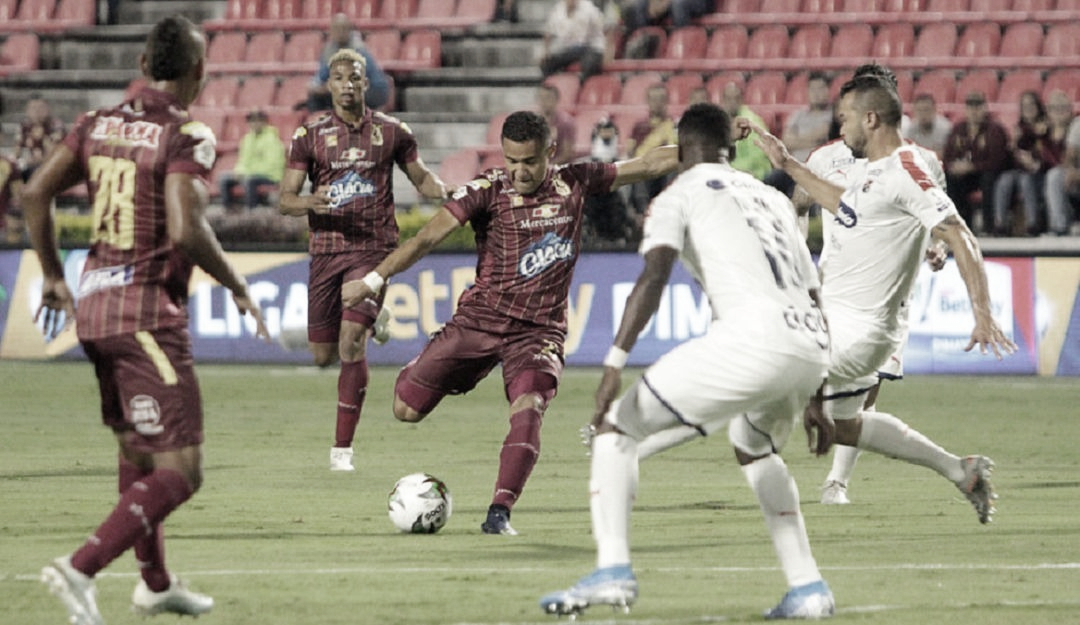 Tolima falló y regalópuntos contra Medellín