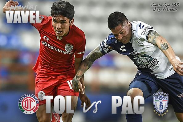 Previa Toluca – Pachuca: por el pase a la semifinal