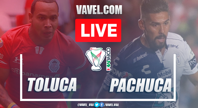 Highlights and goals: Toluca 5-1 Pachuca on 2020  Copa MX