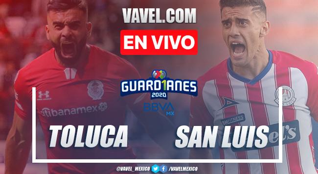 Goles y resumen: Toluca 3-2 Atlético de San Luis en Guard1anes 2020 Liga MX