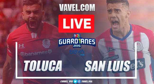 Goals and highlights: Toluca 3-2 San Luis, Guard1anes 2020 Liga MX