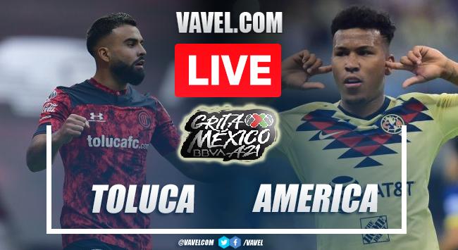 Goals and Highlights: Toluca 3-1 America in Liga MX 2021