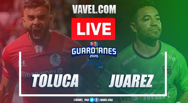 Goal and Highlights: Toluca 0-1 Juárez, 2020 Liga MX